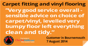 vinyl flooring and carpets bournemouth