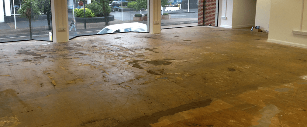 stripped commercial floor in bournemouth