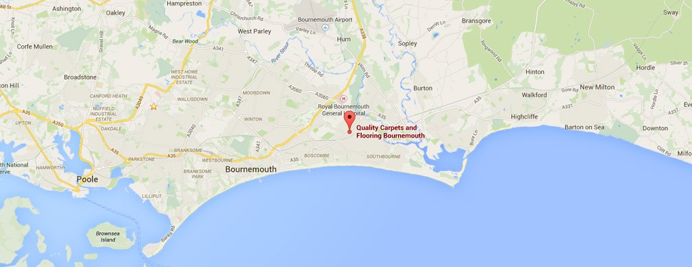 Dorset Carpet Fitting Locations